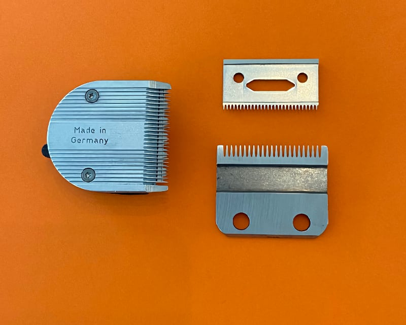clipper parts for sharpening